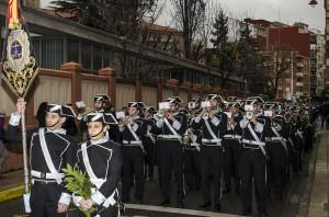 Procesión de los Ramos Barrio San Claudio